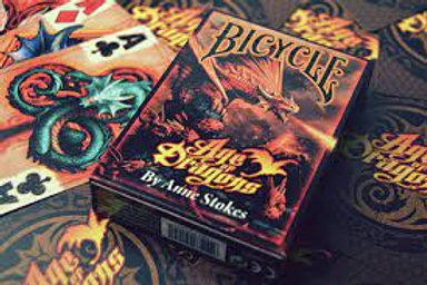 Age of Dragons by Anne Stokes - Bicycle Playing Cards