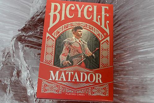 Matador Bicycle (Red) Playing Cards Deck