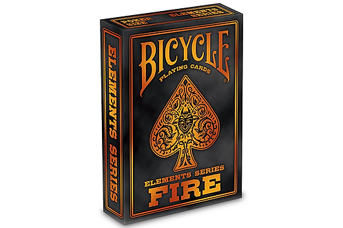 FIRE Bicycle Elements Series Playing Cards Deck