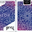 Thumbnail: BICYCLE Neon Blue Aurora Playing Cards by USPCC