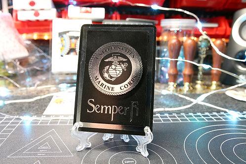 US Marines SEMPER FI - 3D Art Card