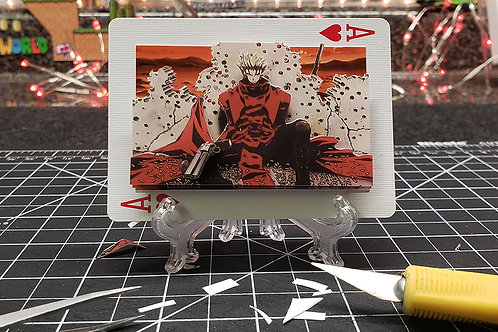 Vash the Stampede of TRIGUN - 3D Art Card