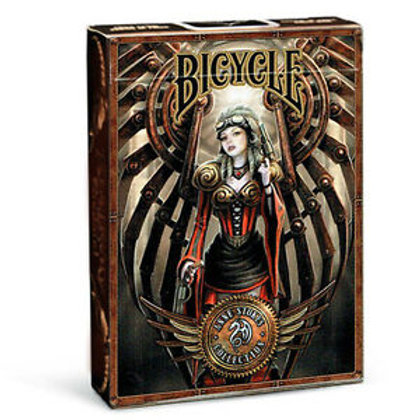 Anne Stokes STEAMPUNK Bicycle Playing Cards Deck