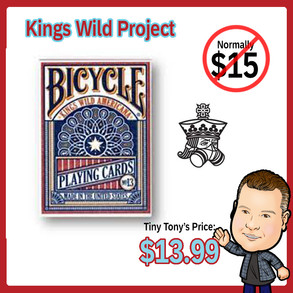 Americana Bicycle Playing Cards