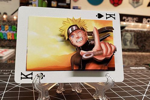 Naruto Uzumaki of NARUTO - 3D Art Card