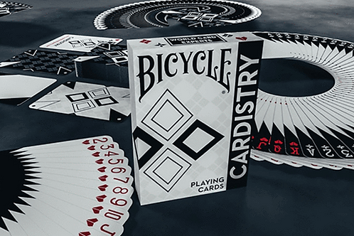 Cardistry Black & White Bicycle Playing Cards Deck
