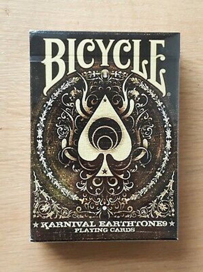 Karnival Earthtone9 Bicycle Playing Cards Deck