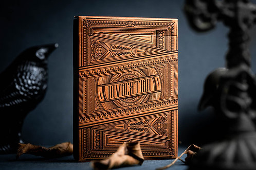 Copper Invocation Playing Cards by Kings Wild Project