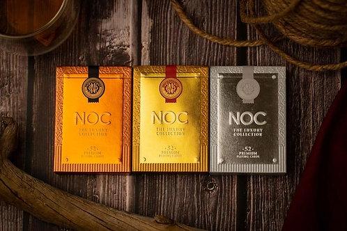 NOC Luxury Collection Playing Cards Kickstarter 3 Deck Set