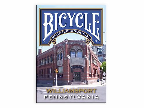 WILLIAMSPORT Pennsylvania BICYCLE Playing Cards Kickstarter Deck