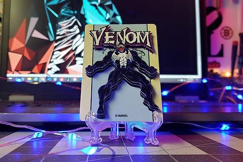VENOM Marvel Playing Card - 3D Art Card