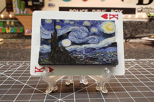 STARRY NIGHT by Vincent van Gogh - 3D Art Card