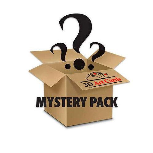 3D Art Card Mystery Pack - $10 value