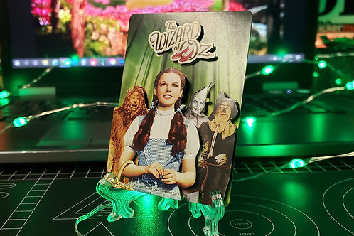 Wizard of Oz Playing Card - 3D Art Card