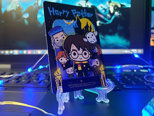 Harry Potter Chibi-Style Playing Cards - 3D Art Card