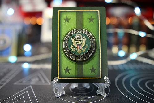 The United States Army - 3D Art Card