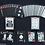 Thumbnail: Black Tiger (RED PIPS) Bicycle Playing Cards by Ellusionist