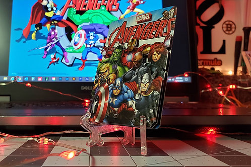 AVENGERS Marvel Playing Card - 3D Art Card