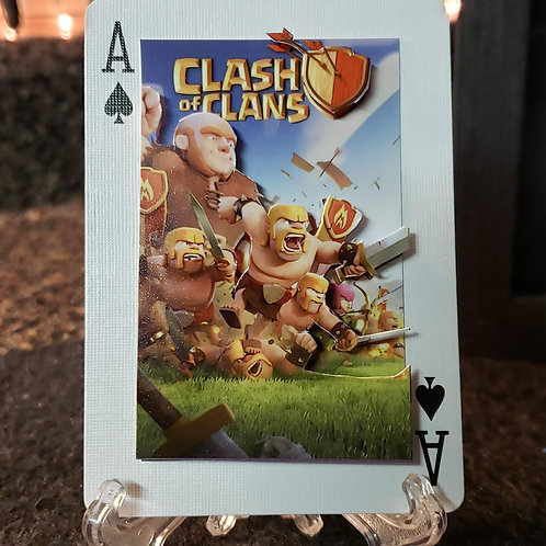 Clash of Clans GIANT and crew - 3D Art Card