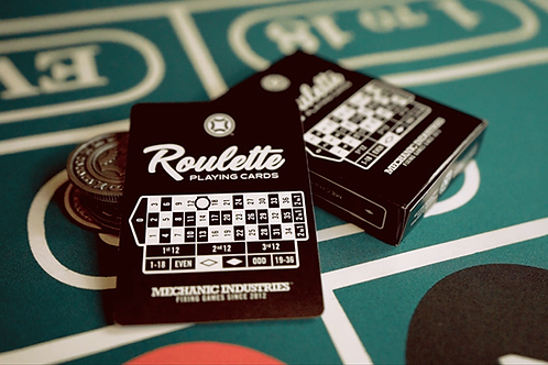 Roulette Playing Cards Deck by Mechanic Industries