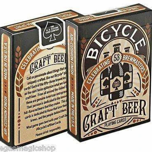 Craft Beer Bicycle Playing Cards