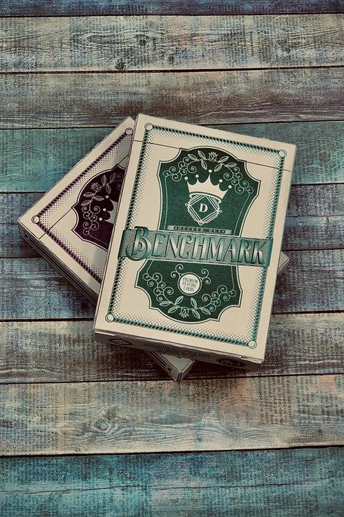 Benchmark  Purple or Teal Playing Card Kickstarter Deck