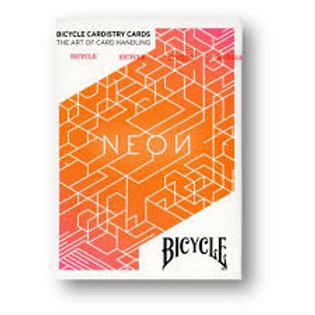BICYCLE Neon Orange Bump Playing Cards by USPCC