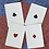 Thumbnail: Faro Vintage Silver Gilded Playing Cards - Limited to just 500