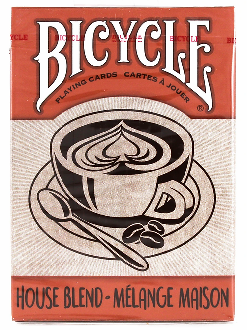 House Blend Bicycle Playing Cards Deck