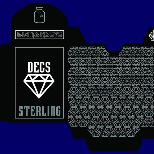 DECS Sterling Silver Limited Edition Playing Card Kickstarter Deck