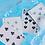 Thumbnail: Solokid Cyan Playing Cards