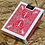 Thumbnail: Maiden Back Bicycle (RED) Playing Cards