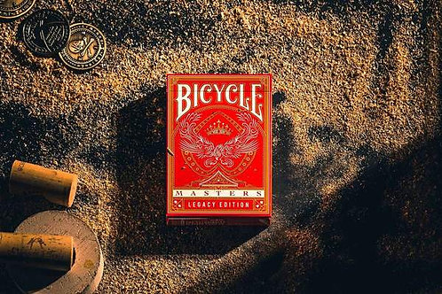 Bicycle Masters Red Legacy Edition Bicycle Playing Cards Deck