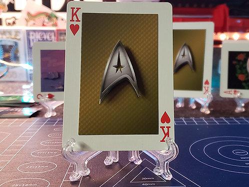 Star Trek Insignia Badge - 3D Art Card