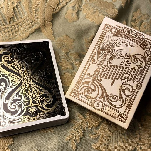 The Great Wylenti Tale of the Tempest Playing Card Kickstarter Deck