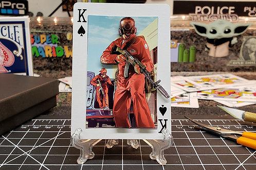 GTA V Bugstars Heist - 3D Art Card
