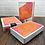 Thumbnail: BICYCLE Neon Orange Bump Playing Cards by USPCC