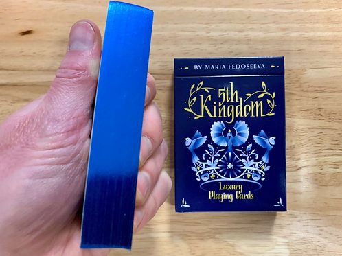 5th Kingdom Blue Gilded Playing Cards - Limited to 300