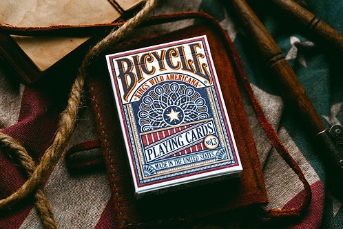 Americana Playing Cards by Kings Wild Project Bicycle Playing Card Deck