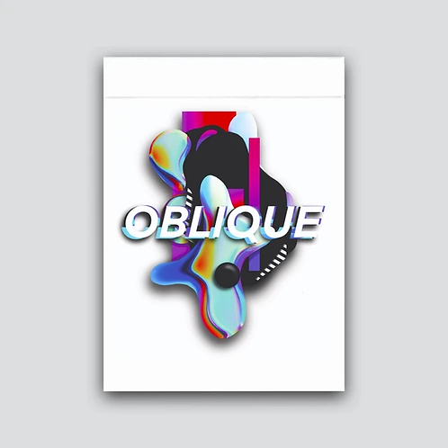 Oblique Playing Cards Deck by CardCutz