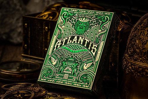Atlantis RISE Playing Cards Kickstarter Deck