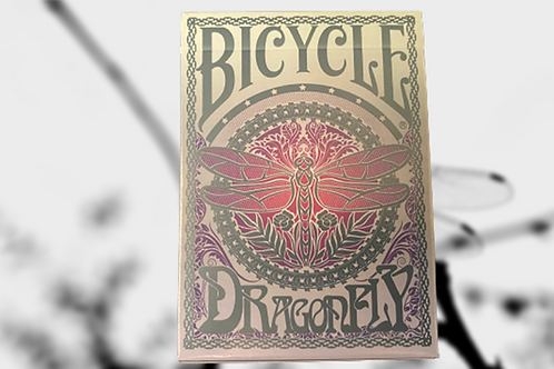 Dragonfly (Teal) Limited Edition Bicycle Playing Cards Deck