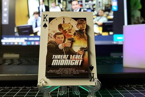 Michael Scott Threat Level Midnight The Office - 3D Art Card