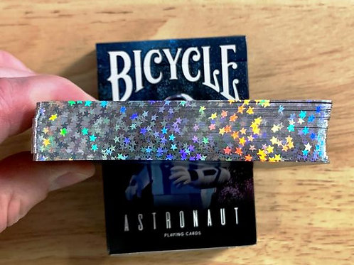 Astronaut Star Gilded Bicycle Playing Cards Bicycle - Limited to 300