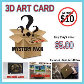 Mystery 3D Art Cards