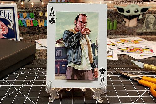 GTA V Trevor Philips -  3D Art Card