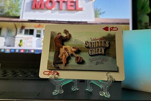 Schitt's Creek Welcome Sign - 3D Art Card