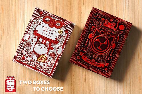 Shinto Neko MITSUDOMOE COLLECTOR BOX Playing Card Kickstarter Deck