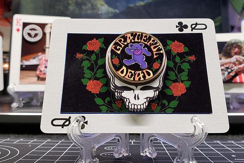GRATEFUL DEAD Dancing Bear 1 - 3D Art Card