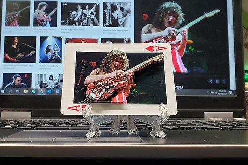 EDDIE VAN HALEN Guitar Solo - 3D Art Card